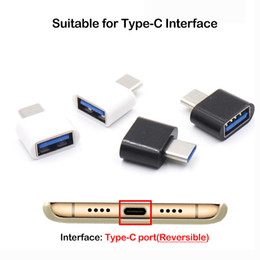 Wholesale cell phone usb otg resale online - Type C OTG USB To USB2 Type A Adapter Connector For Samsung Huawei High Speed Certified Cell Phone Accessories New hot