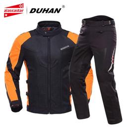 $enCountryForm.capitalKeyWord Australia - DUHAN Motorcycle Jacket Men Breathable Motocross Clothing Summer Chaqueta Moto Jacket Riding Motorbike With Five Protector #