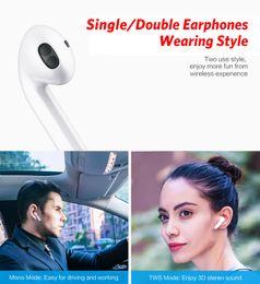 $enCountryForm.capitalKeyWord Australia - I7s TWS Bluetooth Wireless Earphone Stereo Earbud Headset With Charging Box Mic All Bluetooth tablet Smartphone