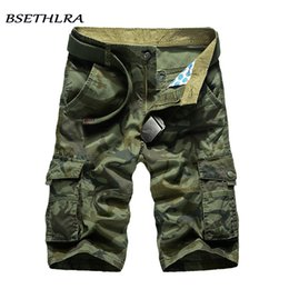 $enCountryForm.capitalKeyWord NZ - Bsethlra 2019 New Cargo Shorts Men Summer Top Design Camouflage Military Casual Shorts Homme Cotton Fashion Brand Clothing Y190508