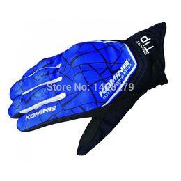 Mesh Fiber Australia - NEW Arrival Moto Gloves for KOMINE GK191 Motorcycle Gloves Breathable Dry Leather carbon fiber 3D MESH knight riding glove