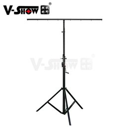 audio performance Australia - LED Par Light Laser Light Manual Fixture Truss Mobile Tripod Stand Audio Wedding Lighting Truss Stage Lighting Performance Equipment