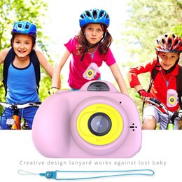 Toy Camera Photography Australia - Kids 2 Inch Digital Mini Camera Cartoon Cute Camera Toys Children Birthday Photography Gifts Educational Toddler Toy Camera