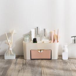 $enCountryForm.capitalKeyWord Canada - Plastic Storage Box Makeup Organizer Case Drawers Cosmetic Display Storage Organizer Office Sundries Make Up Container