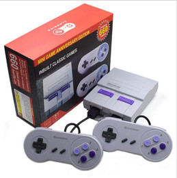 Discount console free handheld games - Super Classic SFC TV Handheld Mini Game Consoles 2018 Newest Entertainment System For 660 SFC NES SNES Games Console Dro