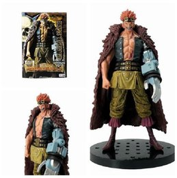 one piece action figures collection UK - 18cm One piece Eustass Kid Action Figure PVC New Collection figures toys Collection for friend gift