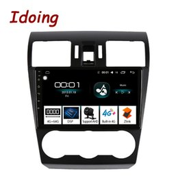 "$enCountryForm.capitalKeyWord Australia - Idoing 9""Car Android 8.1 Radio GPS Multimedia Player For Forester XV WRX 2013-2015 4G+64G 8 Core Navigation no 2 din dvd car dvd"