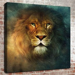 animal lions Australia - Animal lion,Home Decor HD Printed Modern Art Painting on Canvas (Unframed Framed)