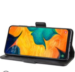 $enCountryForm.capitalKeyWord Australia - China Magnetic Leather Wallet Phone Case Card Slot Retro Flip Stand Phone Cover For Samsung Galaxy S10e A20 70 S10 S10+ note 9