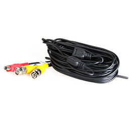 China 18 Meters (or 60 Feet) BNC Video and Power 12V DC Integrated Cable for Analog CCTV DVR Camera System Kit suppliers