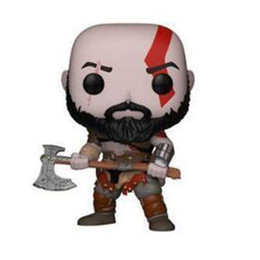Gifts Finishing UK - God of War Kratos dolls anime action figures painted 269# model figure cartoon cute gift collectible