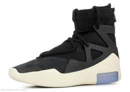 $enCountryForm.capitalKeyWord NZ - Air New Arrival Fear Of God 1 Mens Basketball Shoes Fog Boots Light Bone Black Sail Women Sports Zoom Sneakers 36-45
