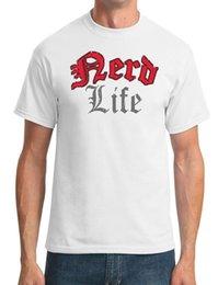 Funny nerd shirts online shopping - Nerd Life Funny School Mens T Shirt Top T shirt Jersey Print T shirt