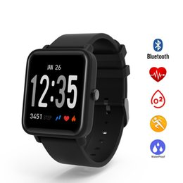 iphone elegant 2019 - DO10 Smart Bracelet IP67 Waterproof Wristband Heart Rate Monitor Blood Pressure Band for iPhone Fittness Tracker Elegant