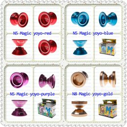 $enCountryForm.capitalKeyWord Australia - Free Shipping N series Magic yoyo Professional Yo-Yo Global top yo-yo brand Green strip pattern green Blue silver red Hu blue