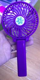 $enCountryForm.capitalKeyWord Australia - Handy Usb Fan Foldable Handle Mini Charging Electric Fans Snowflake Handheld Portable For Home Office Gifts RETAIL BOX