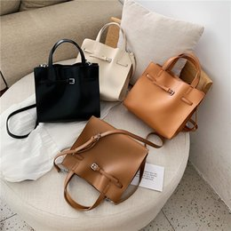 Big handBags messenger style online shopping - Luxury Handbags Women Bags Designer PU Leather Big Women Shoulder Messenger Bags European Style Ladies Tote