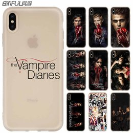 $enCountryForm.capitalKeyWord Australia - Phone Cases luxury Silicone soft Cover for iPhone XI R 2019 X XS Max XR 6 6S 7 8 Plus 5 4S SE Coque The Vampire Diaries