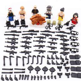 $enCountryForm.capitalKeyWord Australia - 6pcs set 6in1 Military Modern Field Scene Building Blocks Bricks Figures Models Toys Children Gift Toys