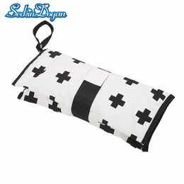 Nurse Bags Wholesale NZ - Diaper Bag Lightweight Waterproof Baby Stroller Bag Folding Nappy Changing Bags Outdoor Travel Hanging Carriage Nursing