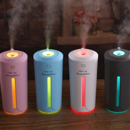 $enCountryForm.capitalKeyWord Australia - new 4 style Ultrasonic air humidifier essential oil diffusers 7 color lights USB atomizer car aromatherapy diffuser T2I5181