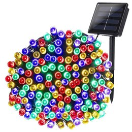 $enCountryForm.capitalKeyWord NZ - Solar String Lights 200 LED 8 Modes Solar Powered Christmas Lights Waterproof Fairy String Lights for Garden Patio Wedding Party Christmas