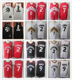 2019 New Style Kawhi Leonard Jersey Basketball Cheap Wholesale Red Black  White Serge Ibaka Kyle Lowry Jerseys Stitched Shirts Shorts 9569943c0