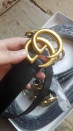 Venta al por mayor de g Venta caliente nuevo Para mujer para mujer h cinturón negro Cinturones de cuero genuino Cinturón de color puro de serpiente patrón hebilla para regalo 0214 g
