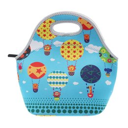 Multi Color Hand Bag Australia - good quality Factory Outlet Waterproof Warm Heat Insulation Neoprene Lunch Bag Food Container Thicken Kids Baby Thermal Lunch Hand Bag
