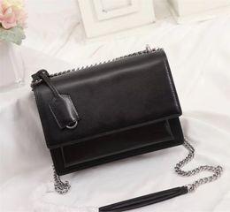 Сумка высокого качества с откидной створкой роскошные дизайнерские сумки SUNSET оригинальные кожаные женские сумки на ремне, модная средняя сумка через плечо на Распродаже