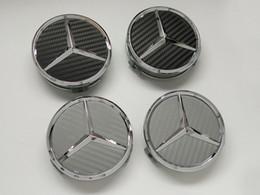 Großhandel Mercedes Radabdeckung Neue Radkappenmarkierung Nabenabdeckung Neu C180 C200 E260 E300 S350 ML350 Radkappenmarkierung