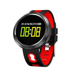 Smart Watch Grey Phone Australia - Mowell Brand new Smart Watch -Waterproof IP68 Bluetooth 4.0 & 0.95 inch OLED Color Screen & G sensor Reminder