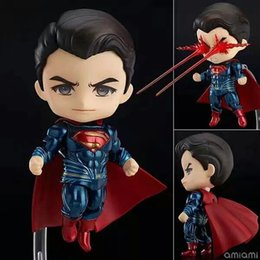 Superman toyS free online shopping - Q version Nendoroid Batman v Superman Dawn of Justic Action Figures Collection Toys Birthdays Gifts Doll New Arrvial