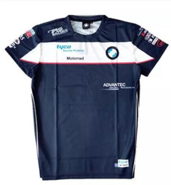 nylon sports Canada - Moto GP Navy Racing Shirt Sport Riding Motocross Quick-Dry Jersey Tyco For BMW Superbike Racing Team T-Shirt