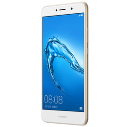Оригинальный Huawei Enjoy 7 Plus 4G LTE сотовый телефон 4GB RAM 64GB ROM Snapdragon 435 Octa Core Android 5.5 inch 12.0 MP Fingerprint ID мобильный телефон