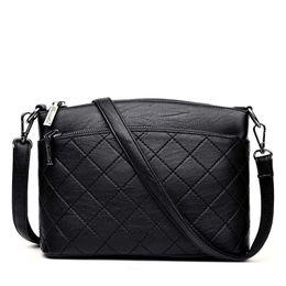 Branded Handbags Australia - 2019 Fashion Ladies Shoulder Bags Handbags Women Brands Leather Messenger Bags Female Crossbody Bag Sac A Main