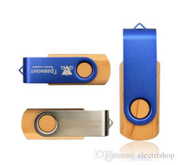 $enCountryForm.capitalKeyWord UK - Maple&Metal Memory Stick Pendrive 16GB 32GB 64GB 8GB USB 2.0 Flash Pen Drive Photography Custom LOGO (over 30pcs Free Logo)
