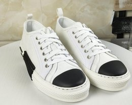 Spring Fall Canvas Shoes NZ - 39-44 eu brand new in box 2019 spring fall summer mens classic black white Denim canvas Fabric lace up Trainers Casual Shoe low top sneakers