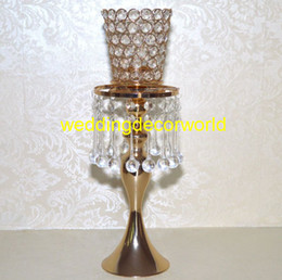 Glasses Decorations Australia - New style WEDDING DECORATION rose gold candle crystal cup glass tea light candle holder decor916