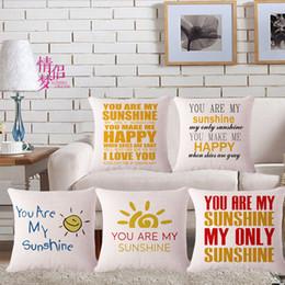 $enCountryForm.capitalKeyWord Australia - Sunshine Originality Cotton Flax Pillow Back Cushion Cushion Loose Coat Can Customized