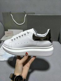 design genuine leather NZ - Designs Shoes Red Bottom Sneaker Luxury Party Wedding Shoes Genuine Leather Spikes Lace-up Casual Shoes xrx1904030105
