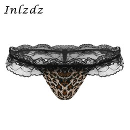 $enCountryForm.capitalKeyWord Australia - Mens Sexy Panties Hot Lingerie Gay Underwear Bulge Pouch Bikini G-string Thong Briefs Low Rise Ruffle Lace Open Back Underwear