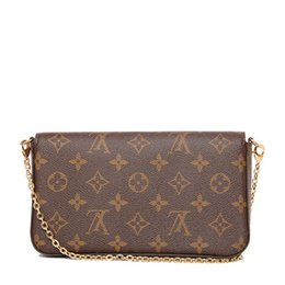 Chinese  ACCESSOIRES M40712 LONG CHAIN WALLETS KEY CARD HOLDERS PURSE CLUTCHES EVENING dorp ship manufacturers