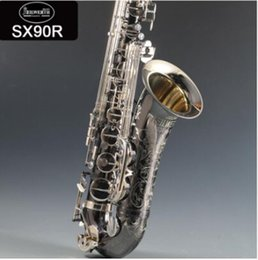 95% cópia instrumento Alemanha JK SX90R Keilwerth Tenor saxofone preto Tenor Sax Top Professional Musical com caso frete grátis em Promoção
