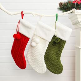 $enCountryForm.capitalKeyWord Australia - Christmas Stockings Mini Sock Festival Xmas Tree Candy Gift Bag Hanging Pendant Home Decor Ornaments Xmas Gifts