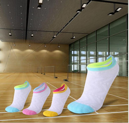 Badminton Towel Australia - Running sports socks, thickened towel bottom badminton socks, sweat-absorbing, deodorant, sweat-absorbent, wear-resistant boat socks