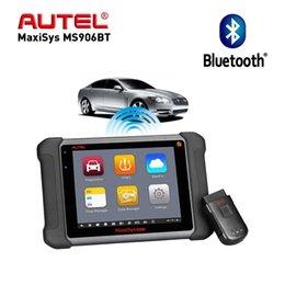 Venta al por mayor de Aute OBD2 Scanne Herramienta de diagnóstico de automóviles Maxisys MS906BT / DS808K Programador clave Analizador automotriz Mejor lanzamiento x431