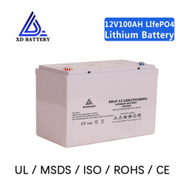 lifepo4 pack Australia - 12 voltage lithium ion 12v 100ah lipo battery lifepo4 pack for golf cart, rv ev, electric bike