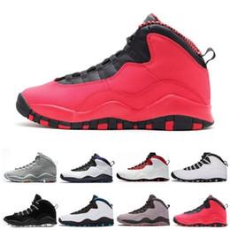 69eca19f905 Powder Pink Shoes Australia - 2019 10s Mens basketball shoes Tinker Cement  10 men shoes Bobcats