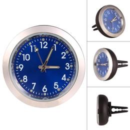 Discount auto clocks car - Car Decoration Electronic Meter Car Clock Timepiece Auto Interior Ornament Automobiles Sticker Watch Interior In Accesso